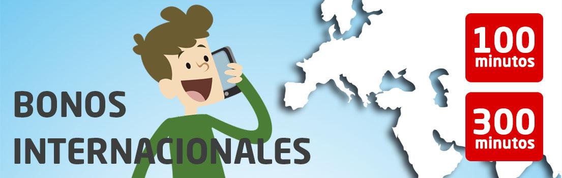 Bonos internacionales para telefonía