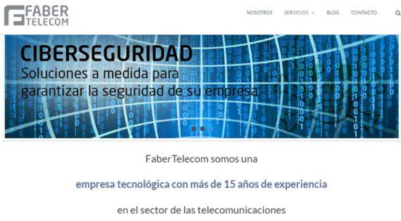 Nueva Web Fabertelecom