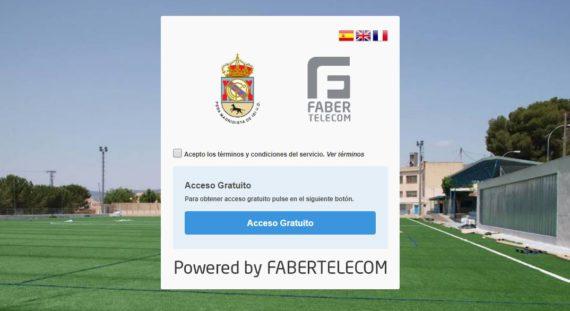 Portal cautivo Peña Madridista