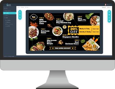 Mostrar información haciendo uso de las herramientas digitales disponibles y software digital signage.