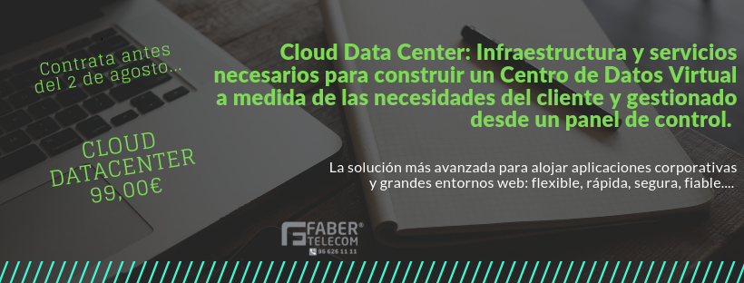 Cloud Data Center Fechas Precio-I