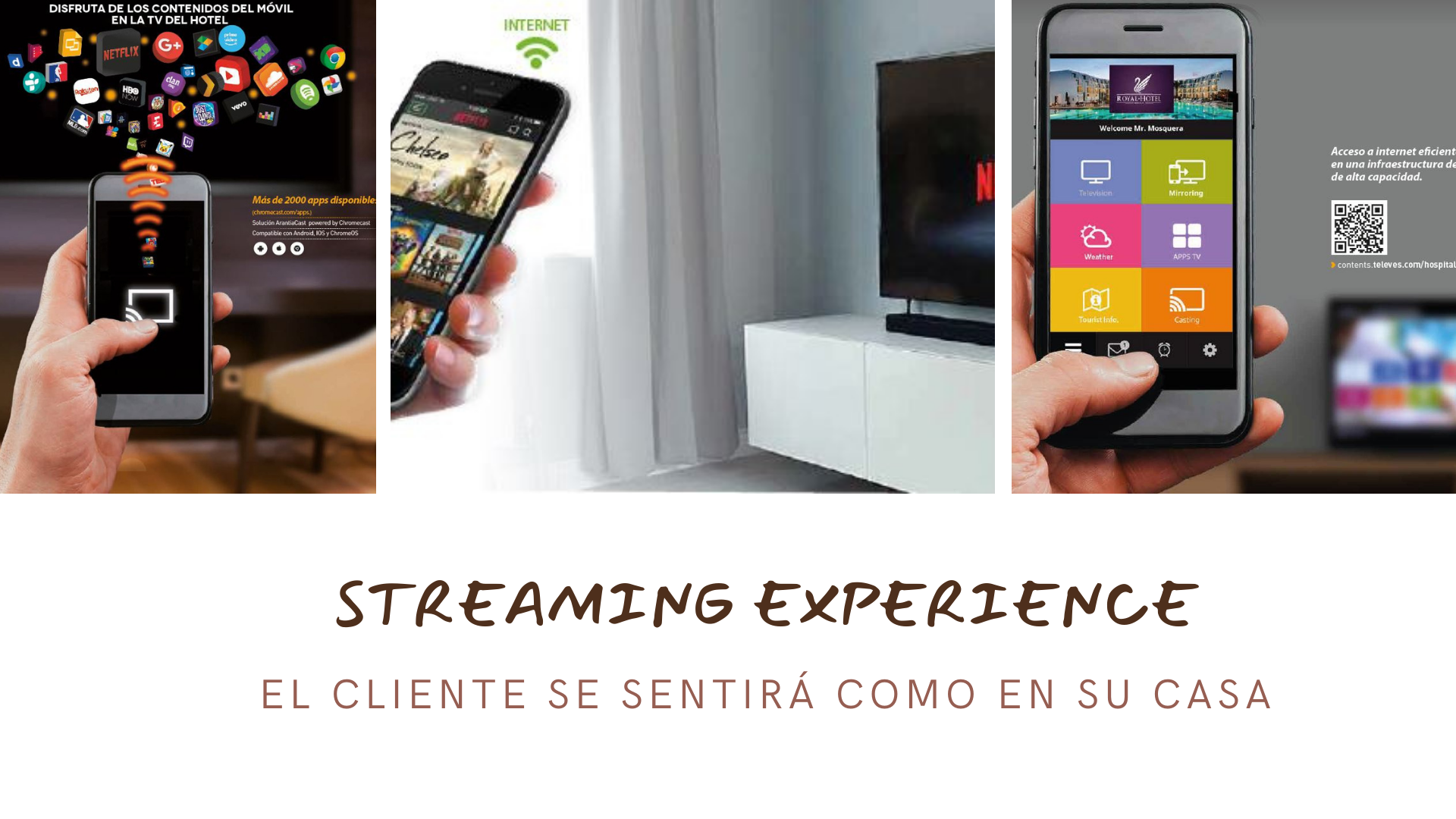 STREAMING EXPERIENCE-IV