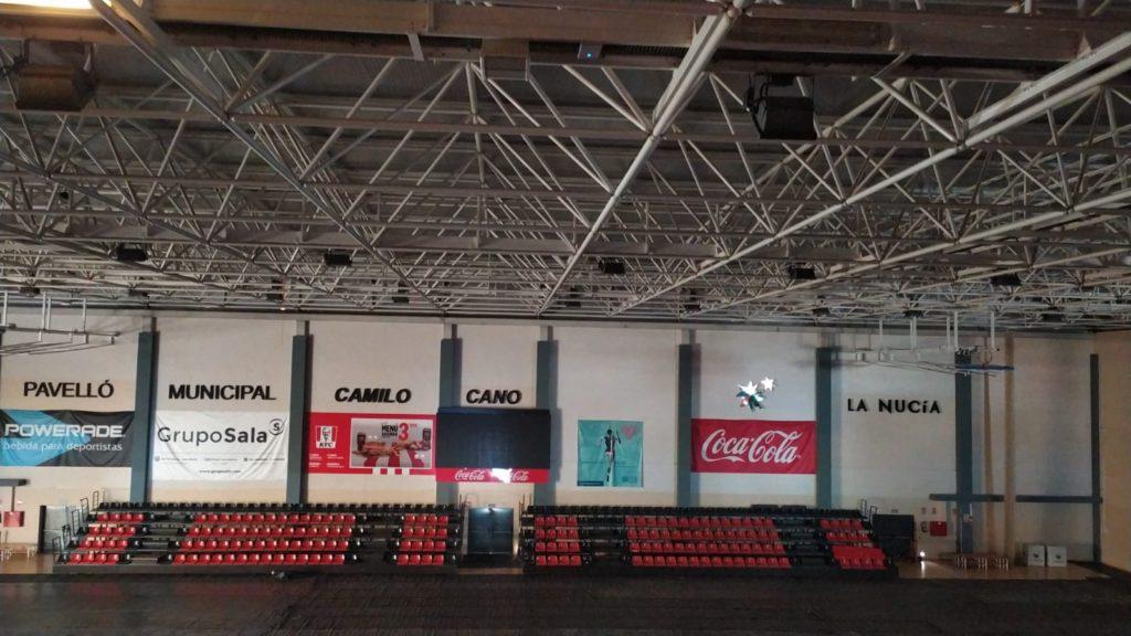 Red WiFi instalada en la cuidad deportiva La Nucia